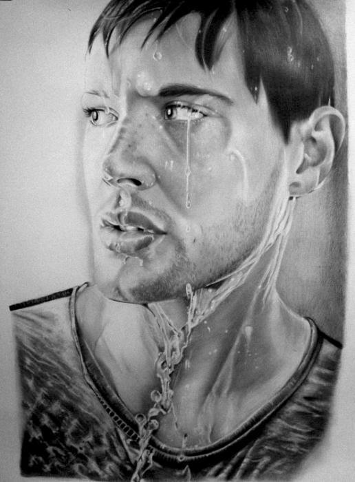 Jensen Ackles by Maylia